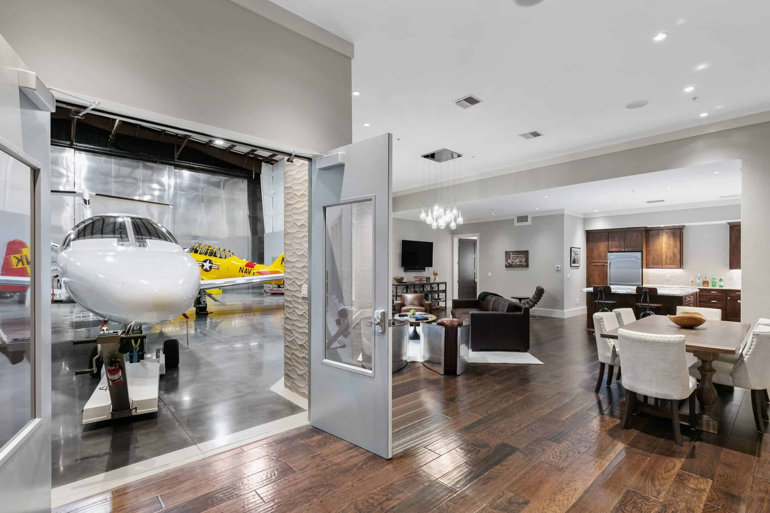 Markley Construction-Airport Hanger Man Cave