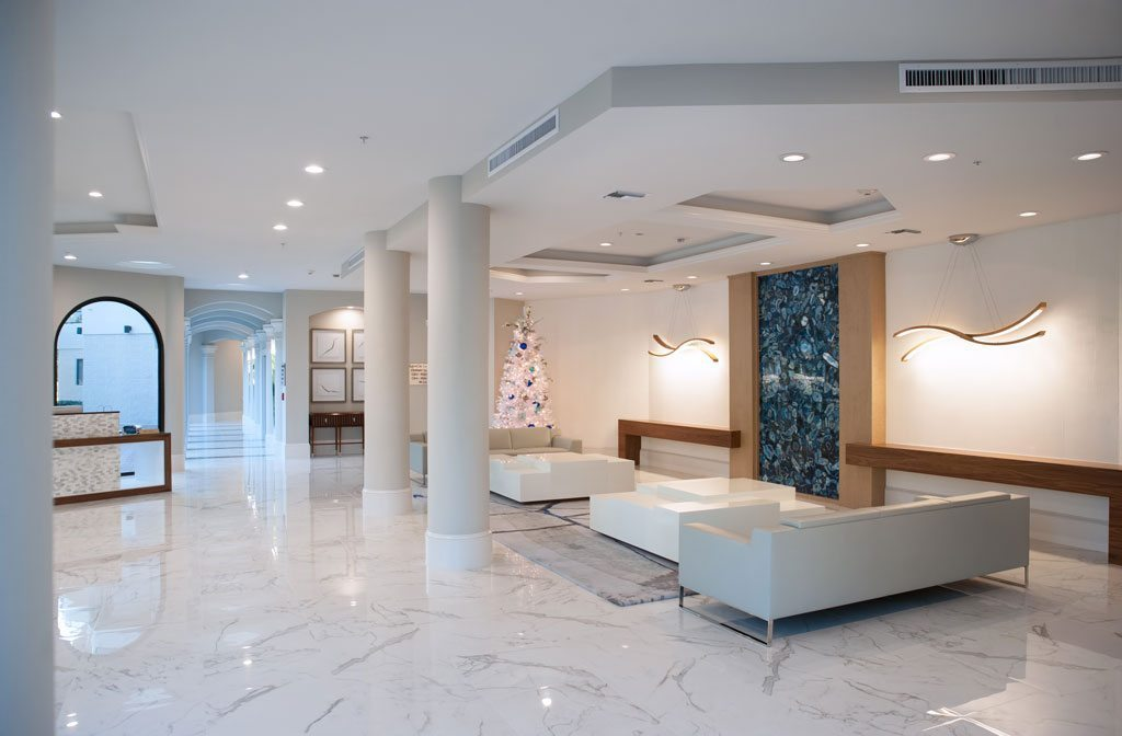 Markley Construction-L'Ambiance Lobby Remodel