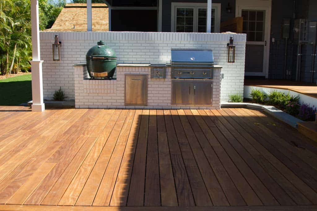 What wood works best for outdoor decks